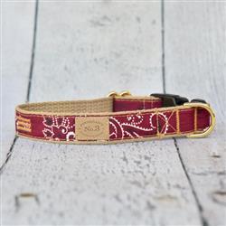 Brick Bandana Collar, Lead & Harness