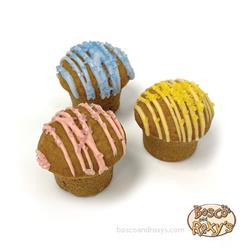 It's My Bark-Day Collection, Birthday Drizzled Cupcakes, 36/case, MSRP $1.99