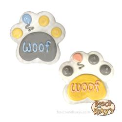 It's My Bark-Day Collection, Mixed 4 Inch Woof Paw, 10/case, MSRP $6.99