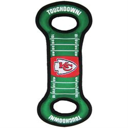 Kansas City Chiefs Field Tug Toy by Pets First