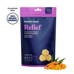Relief - CBD Bites with 100% Organic Turmeric