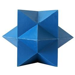 Eco-Friendly Blue Star TPR Dog Chew Toy