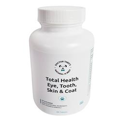 Doctor Theo's Total Health - Eye, Teeth, Skin and Coat Supplements for Pets