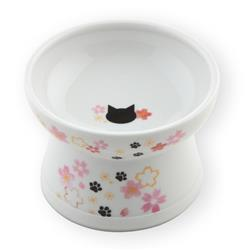 Raised Cat Food Bowl (2021 Sakura Limited Edition)