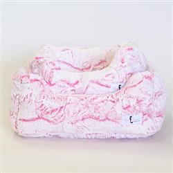 Whisper Dog Bed: Carnation