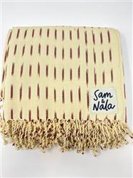 Mosaic Flight - Artisan Cotton Throw Blanket