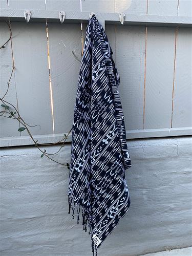 Moon River - Artisan Cotton Throw Blanket