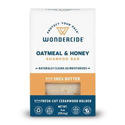 Oatmeal & Honey Shampoo Bar for Dogs and Cats by Wondercide