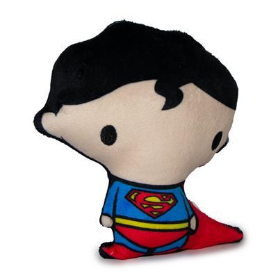 Dog Toy Squeaky Plush - Chibi Superman Standing Pose
