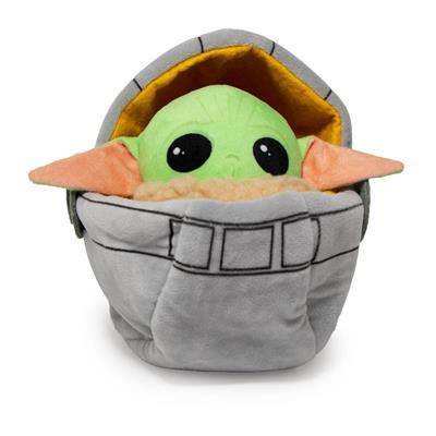 Star Wars Baby Yoda Child Carriage in Carriage Mandalorian Plush Squeaker Dog Toy
