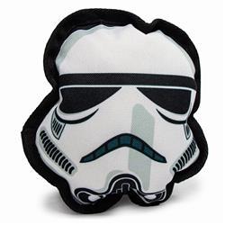 Dog Toy Ballistic Squeaker - Star Wars Stormtrooper Head
