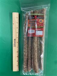 "12"" 6 Pack Scoochie Steakhouse Chopped Beefsteak Sticks From Brazil"