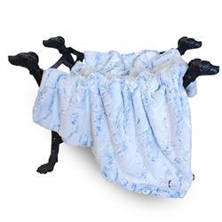Whisper Dog Blanket: Blue Lotus