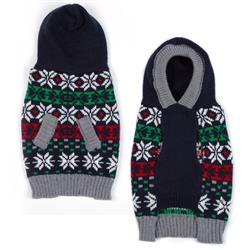 East Side Collection Snowflake Hoodie Sweater