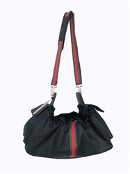Gigi Sling - Black w/ Stripe
