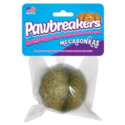 "Pawbreakers Bonkas All Natural Catnip Ball for Cats - Megabonkas 2.25"""