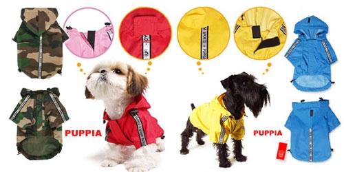 Base Jumper Raincoat by Puppia®
