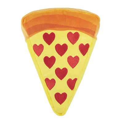 Squeakify I Heart Pizza Dog Toy