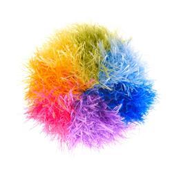 Rainbow Dog Ball - Handmade Plush Dog Toy – Squeaker dog toy, Squeaky dog toy, knitted toy, Gift for dogs, Durable Dog Toys, Tough Dog Toys