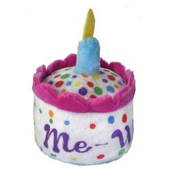 MeWoW Cake Plush Cat Toy by Kittybelles