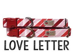 Love Letter – Organic Cotton Collars & Leashes