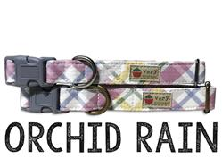 Orchid Rain – Organic Cotton Collars & Leashes