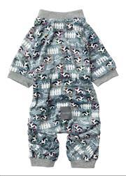 Cosmic Cows Grey Pajamas