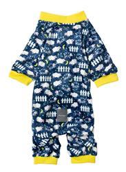 Navy Counting Sheep Pajamas