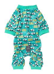 Snoozy Pandas Teal Pajamas