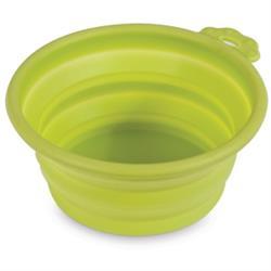 Petmate® Silicone Round Travel Pet Bowl