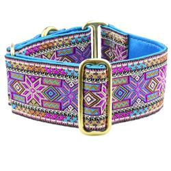 Americana Star 2″ Wide Satin Lined Martingale Collars