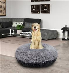 Bagel Bed - Siberian Grey and Wolfhound Grey or Customize your Own
