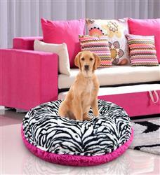Bagel Bed - Zebra and Lollipop