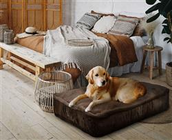 Sicilian Rectangle Bed Brown Fox or Customize your Own