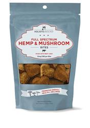 Full Spectrum Hemp and Mushroom Bites with 12 mg CBD, 5.29 oz bags (30 bites/bag)