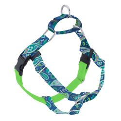 Earthstyle Paw Paisley Freedom No-Pull Dog Harness