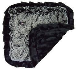 Blanket- Midnight Frost and Black Puma or  Custom Blanket