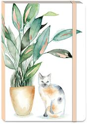 HOUSEPLANT CALICO - Soft Cover Bungee Journal