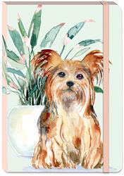HOUSEPLANT YORKIE - Soft Cover Bungee Journal