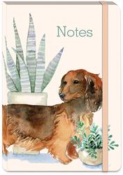 HOUSEPLANT DACHSHUND - Soft Cover Bungee Journal