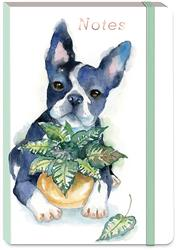 HOUSEPLANT BOSTON TERRIER - Soft Cover Bungee Journal