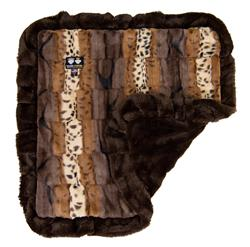 Blanket- Wild Kingdom and Godiva Brown or  Customize your Own