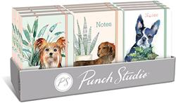 HOUSEPLANT DOG PRE-PACK - 12 Soft Cover Bungee Journals with Display Box