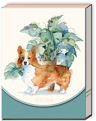 HOUSEPLANT CORGI - Pocket Notepad