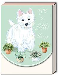 HOUSEPLANT WESTIE - Pocket Notepad