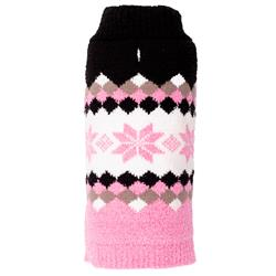 Colorblock Snowflake Sweater