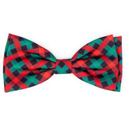 Holiday Check Bow Tie