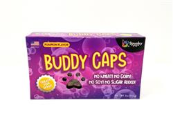 Buddy Caps Dog Treats, Pumkin Flavor, 5 oz