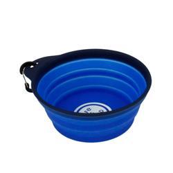 Life is Good® Blue Pet Travel Bowl, 20 oz