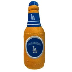 Los Angeles Dodgers Beer Bottle Toy by Pets First